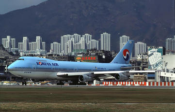 HL7464 - Korean Air Boeing 747-200