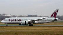 A7-BCS - Qatar Airways Boeing 787-8 Dreamliner aircraft