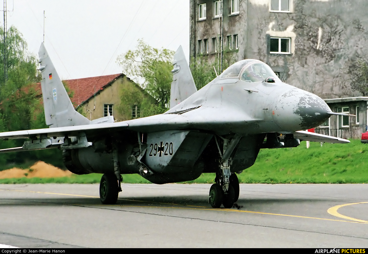 Germany - Air Force 29+20 aircraft at Florennes
