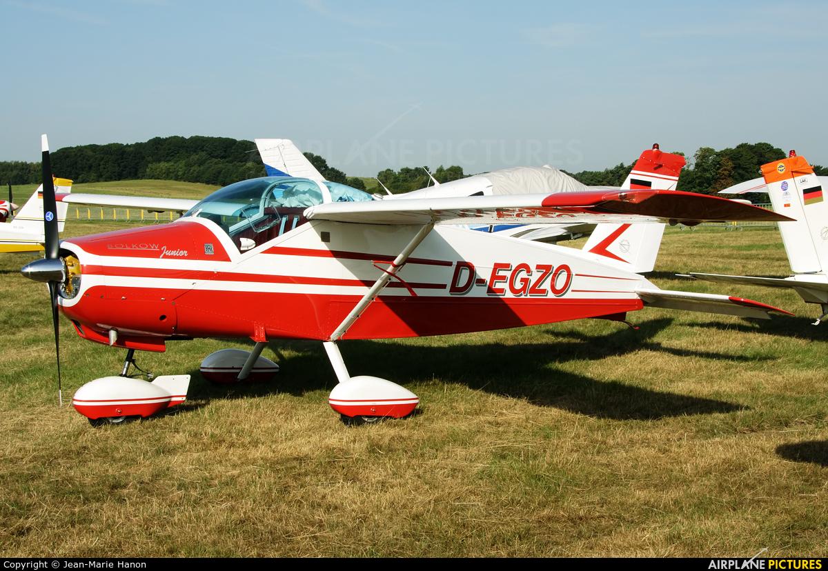 Private D-EGZO aircraft at Diest Schaffen