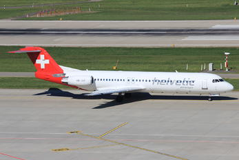 HB-JVC - Helvetic Airways Fokker 100