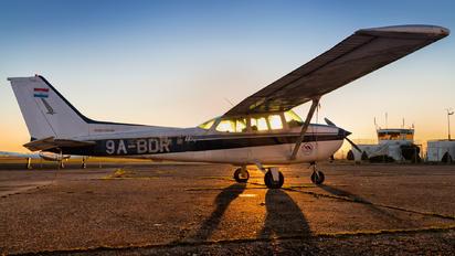 9A-BDR - Aeroklub Zagreb Cessna 172 Skyhawk (all models except RG)