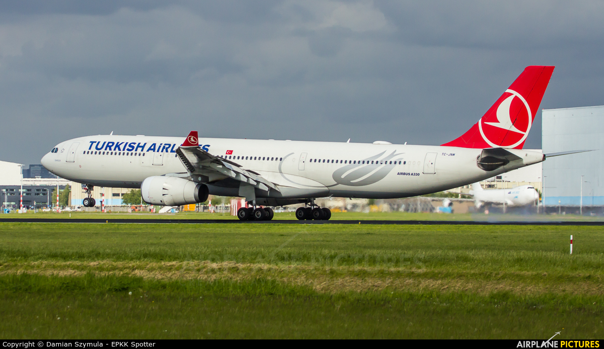 Turkish Airlines TC-JNM aircraft at Amsterdam - Schiphol