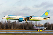 UK75704 - Uzbekistan Airways Boeing 757-200 aircraft