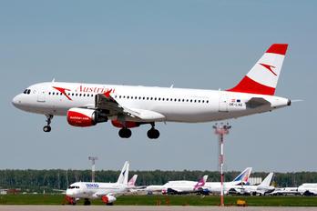 OE-LXE - Austrian Airlines/Arrows/Tyrolean Airbus A320