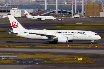 JA828J - JAL - Japan Airlines Boeing 787-8 Dreamliner