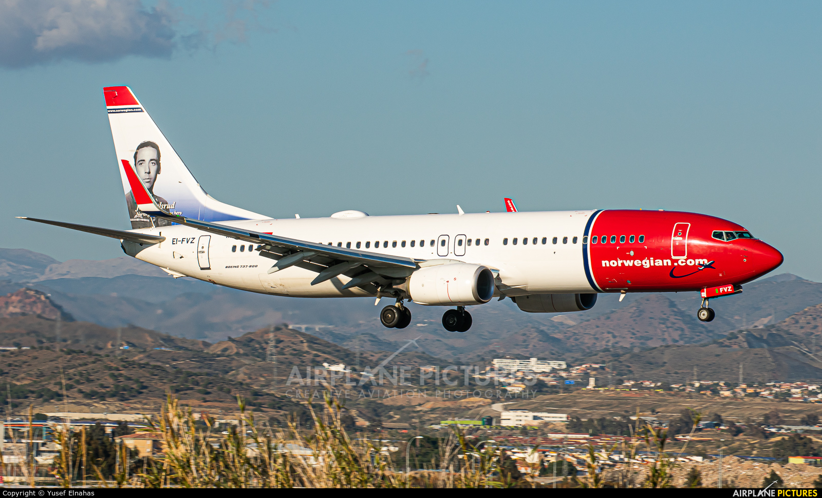 Norwegian Air International EI-FVZ aircraft at Málaga