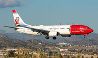 EI-FVZ - Norwegian Air International Boeing 737-800 aircraft