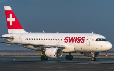 HB-IPT - Swiss Airbus A319