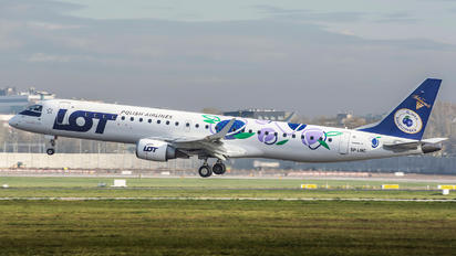 SP-LNC - LOT - Polish Airlines Embraer ERJ-190 (190-100)