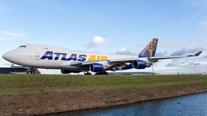 N489MC - Atlas Air Boeing 747-400F, ERF