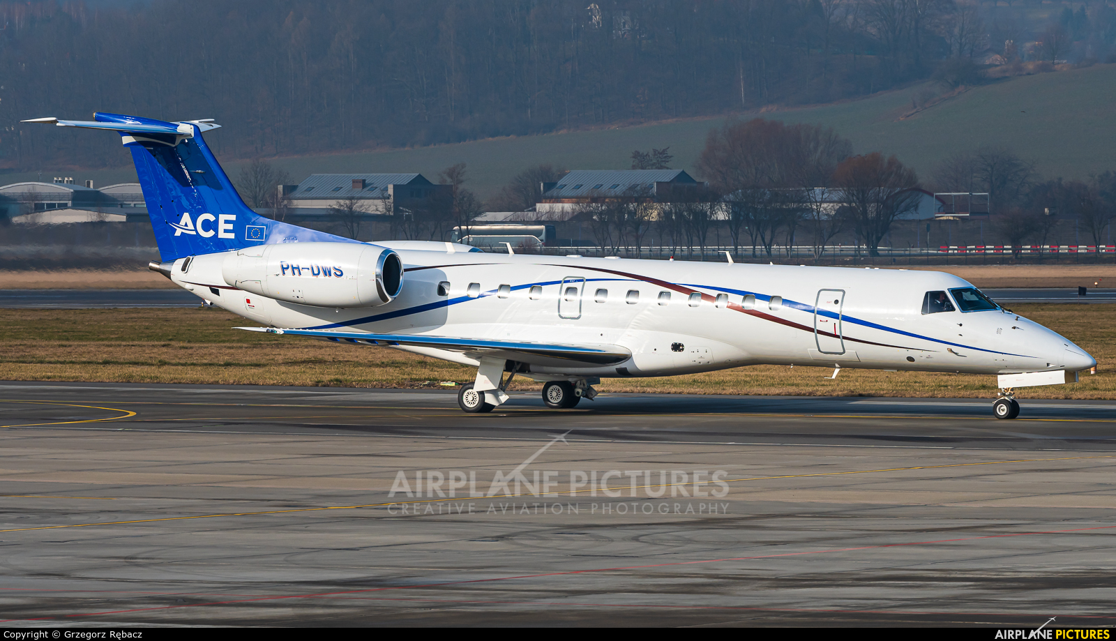 JetNetherlands PH-DWS aircraft at Kraków - John Paul II Intl