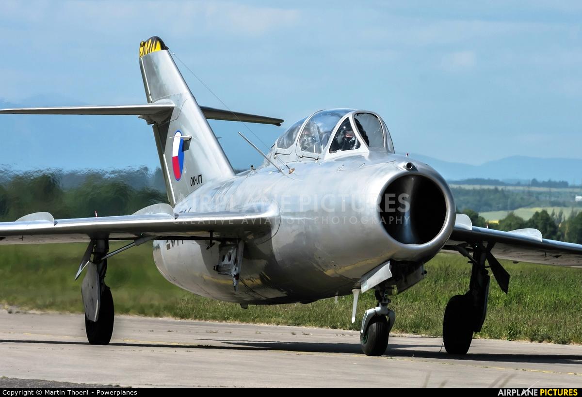 Czech Flying Legends OK-UTI aircraft at Hradec Králové