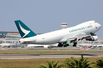B-LIF - Cathay Pacific Cargo Boeing 747-400F, ERF