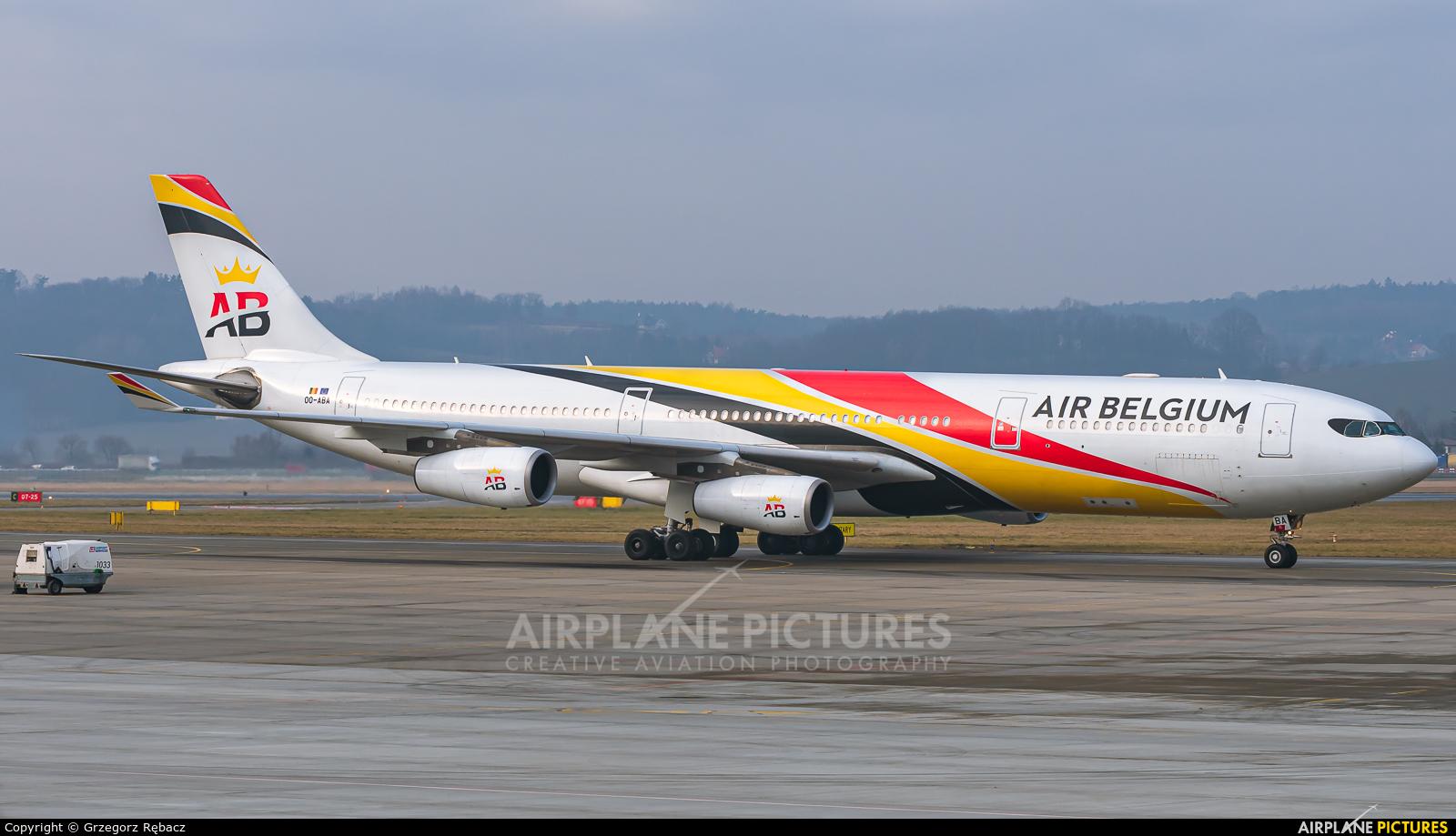Air Belgium OO-ABA aircraft at Kraków - John Paul II Intl