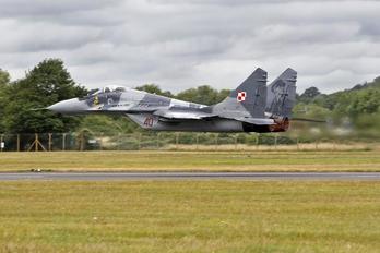 40 - Poland - Air Force Mikoyan-Gurevich MiG-29