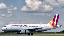 D-AGWG - Germanwings Airbus A319 aircraft