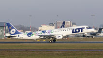 SP-LNC - LOT - Polish Airlines Embraer ERJ-190 (190-100) aircraft