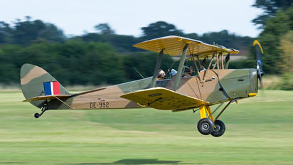 G-AXXV - Private de Havilland DH. 82 Tiger Moth