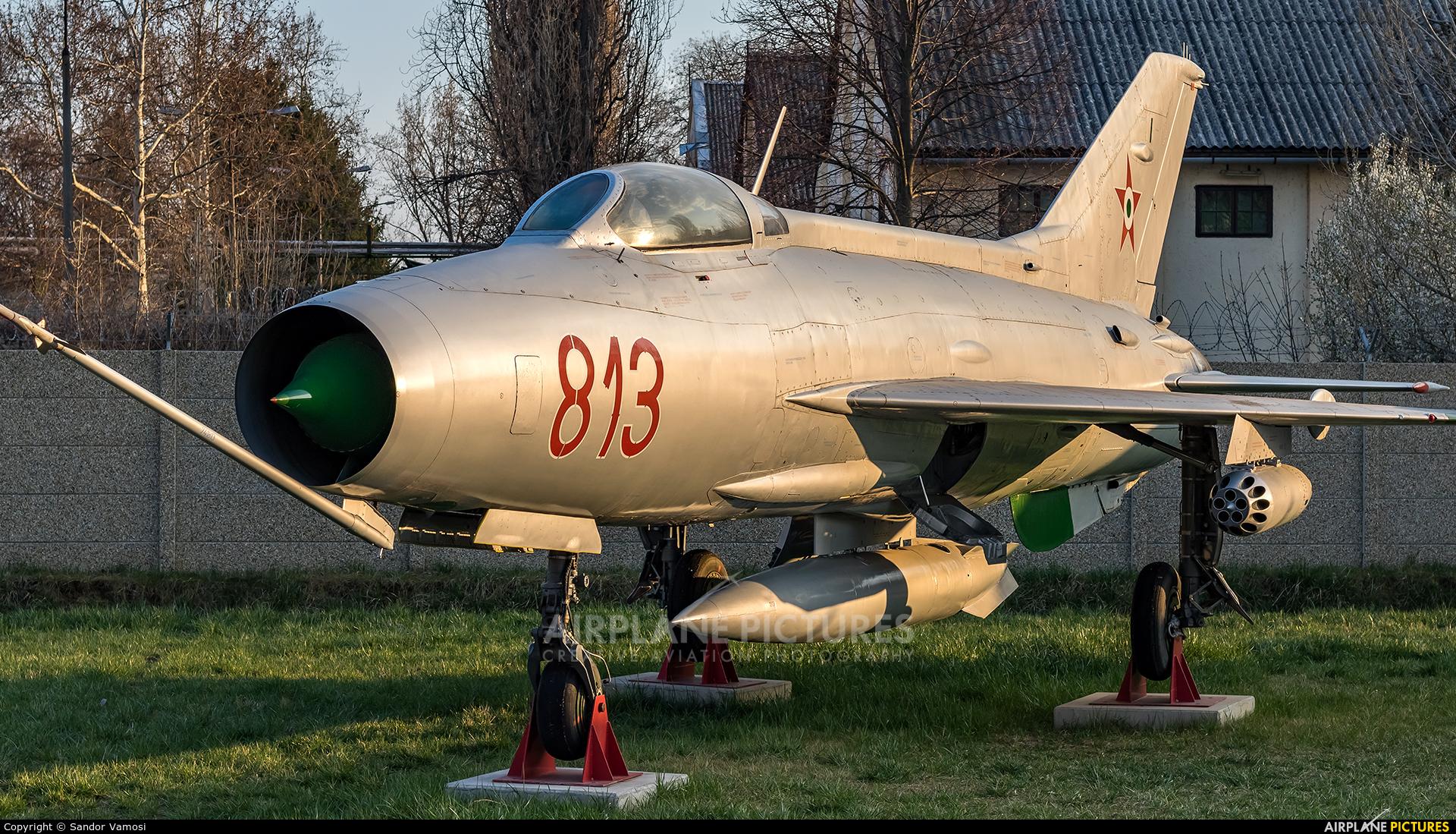 Hungary - Air Force 813 aircraft at Off Airport - Hungary