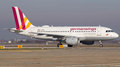 D-AKNV - Germanwings Airbus A319