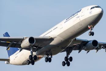 D-AIGO - Lufthansa Airbus A340-300