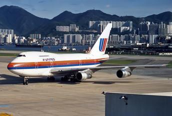 N146UA - United Airlines Boeing 747SP