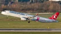 TC-JTK - Turkish Airlines Airbus A321 aircraft