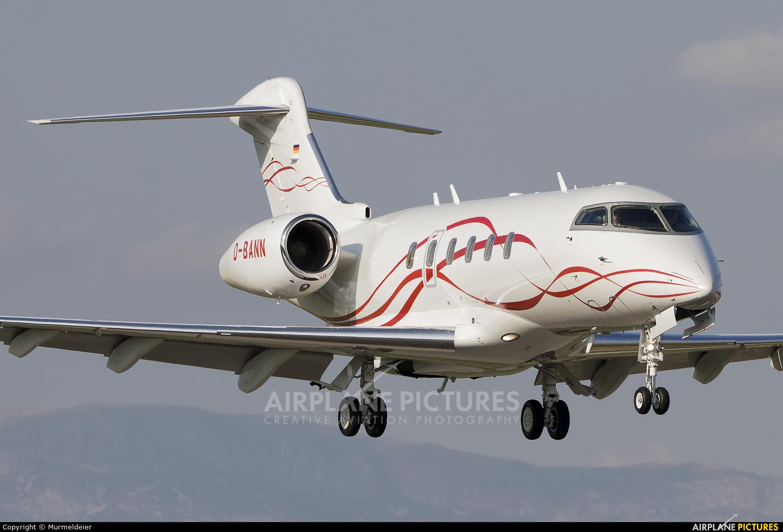 Private D-BANN aircraft at Cannes - Mandelieu