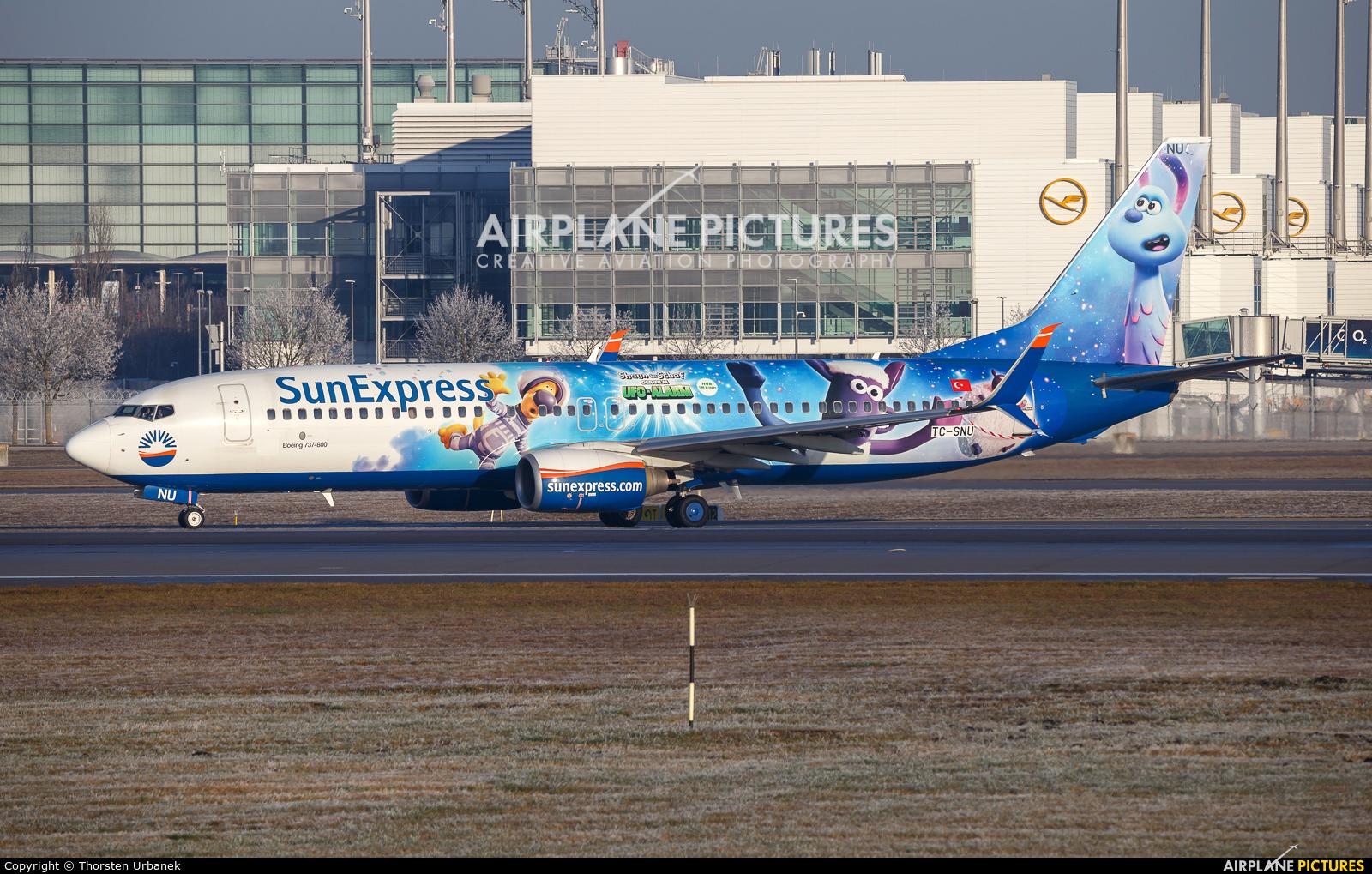 SunExpress TC-SNU aircraft at Munich