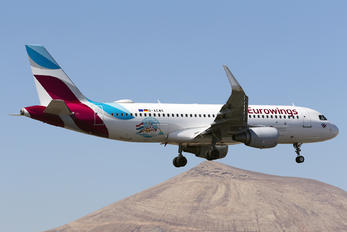 D-AEWK - Eurowings Airbus A320