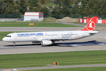 TC-JRZ - Turkish Airlines Airbus A321