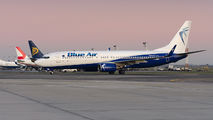 YR-BMN - Blue Air Boeing 737-800 aircraft