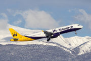 G-OZBR - Monarch Airlines Airbus A321 aircraft
