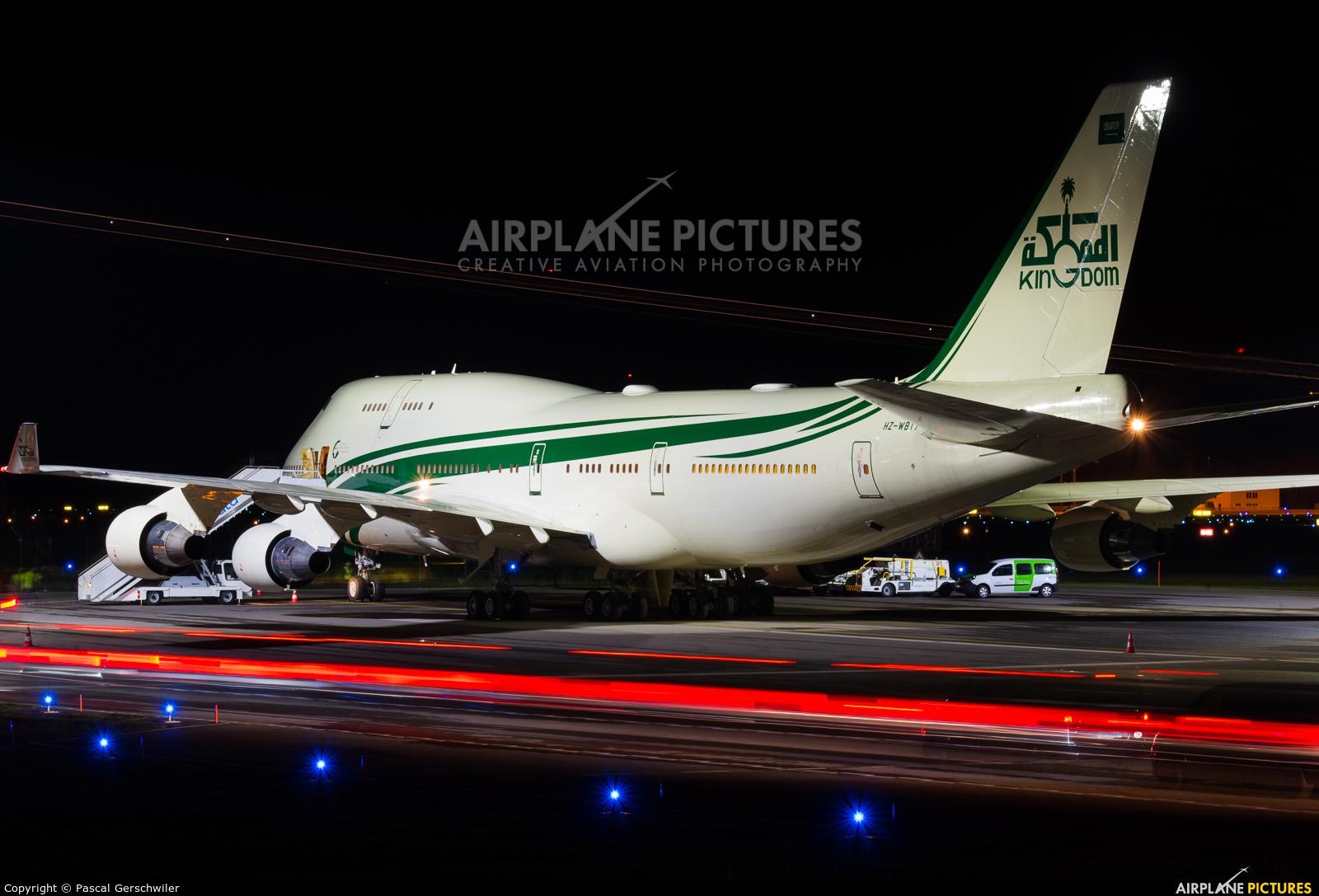 Kingdom Holding HZ-WBT7 aircraft at Zurich