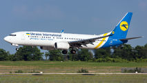UR-UIB - Ukraine International Airlines Boeing 737-800 aircraft