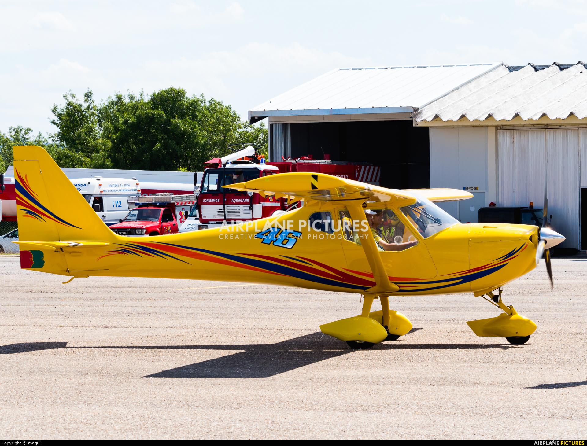 Private F-JZSP aircraft at Bragança