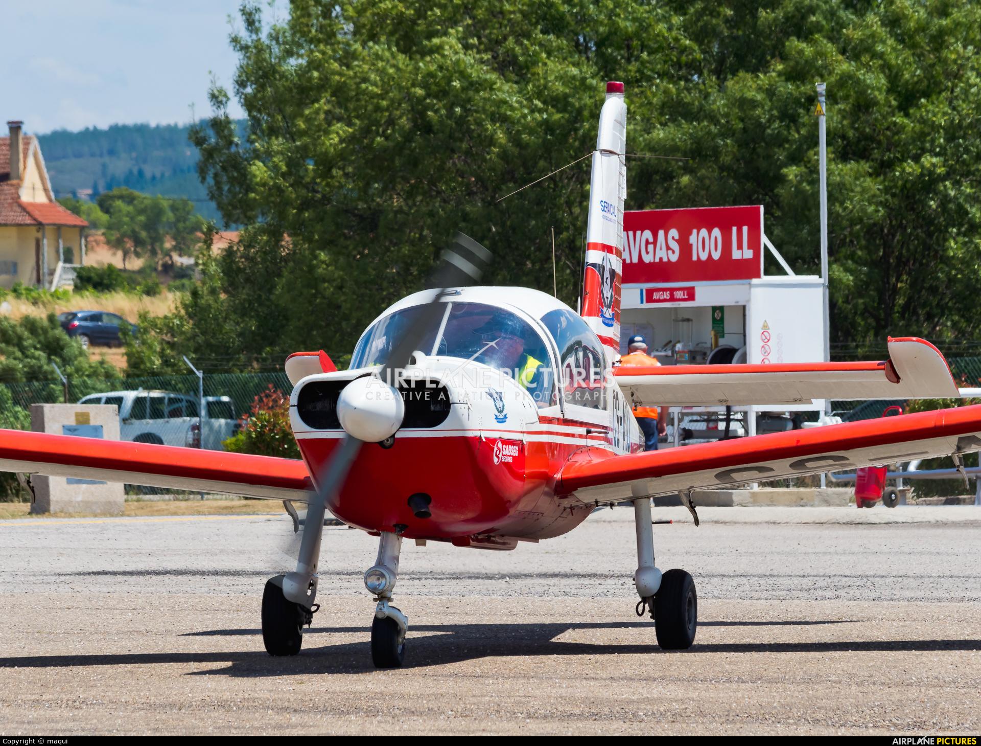 Private CS-AID aircraft at Bragança