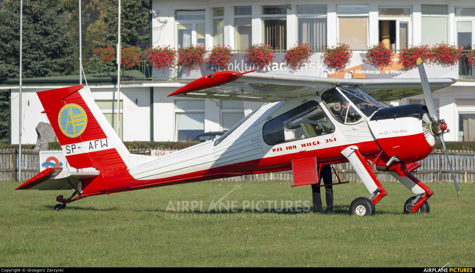 Aeroklub Polski SP-AFW aircraft at Radom - Piastów