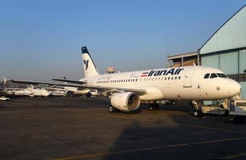 EP-IEP - Iran Air Airbus A319