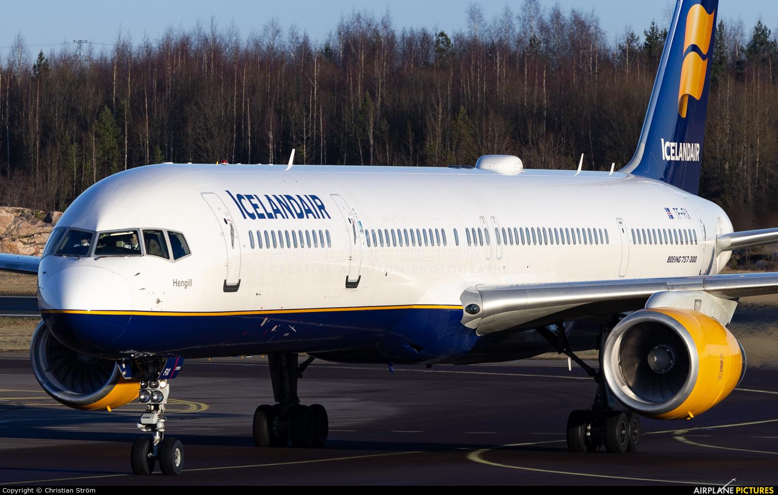 Icelandair TF-FIX aircraft at Helsinki - Vantaa