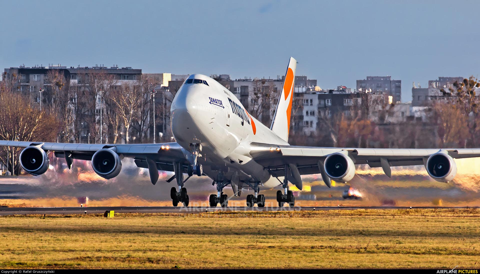 Magma Aviation TF-AMN aircraft at Warsaw - Frederic Chopin