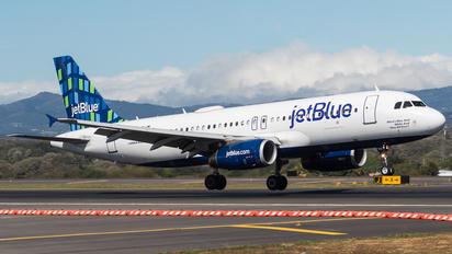N789JB - JetBlue Airways Airbus A320