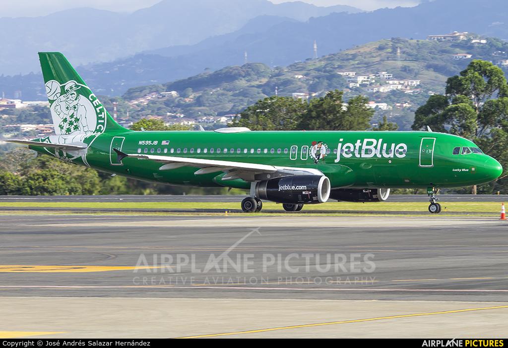 JetBlue Airways N595JB aircraft at San Jose - Juan Santamaría Intl