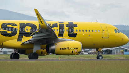 N619NK - Spirit Airlines Airbus A320