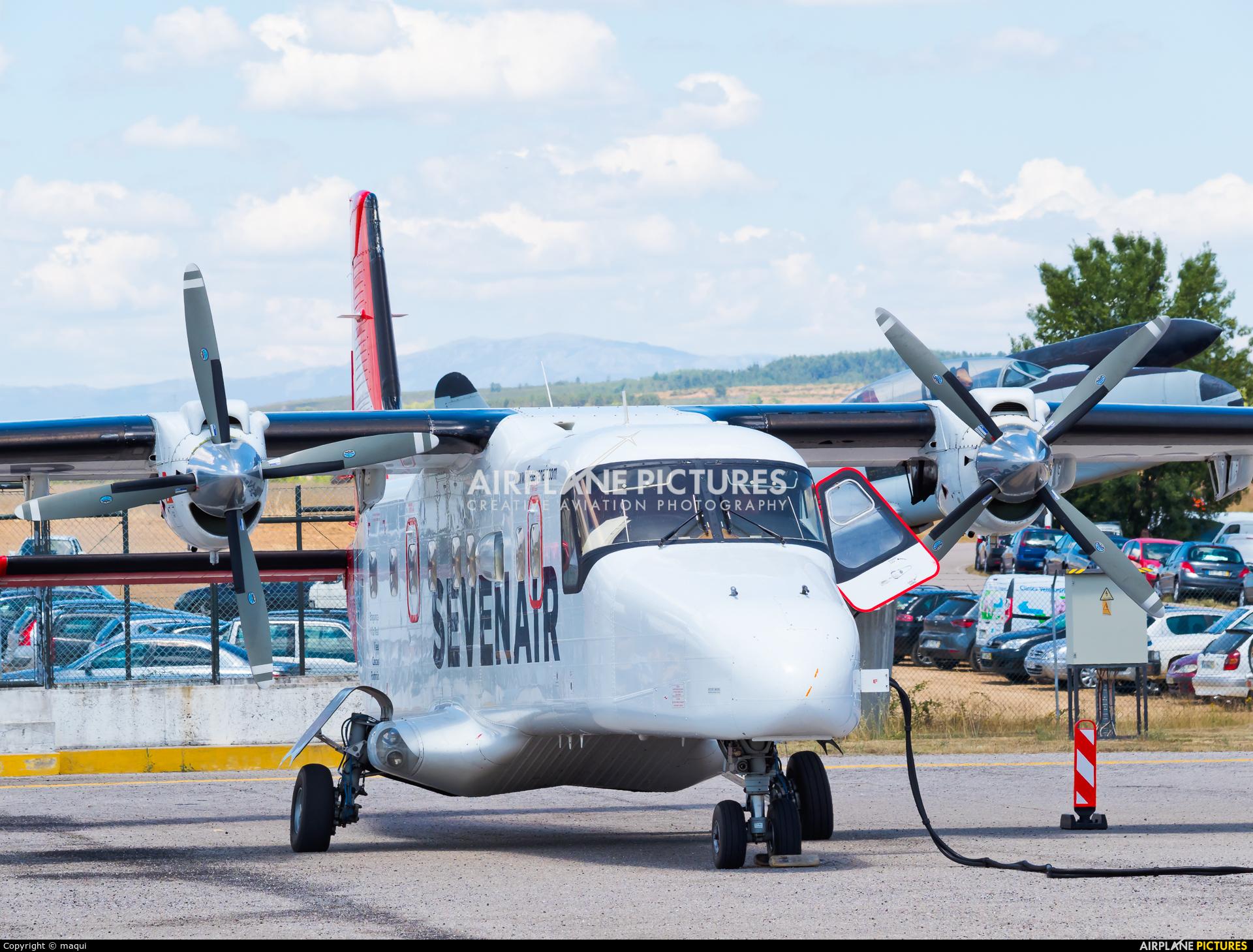 Sevenair CS-AYT aircraft at Bragança