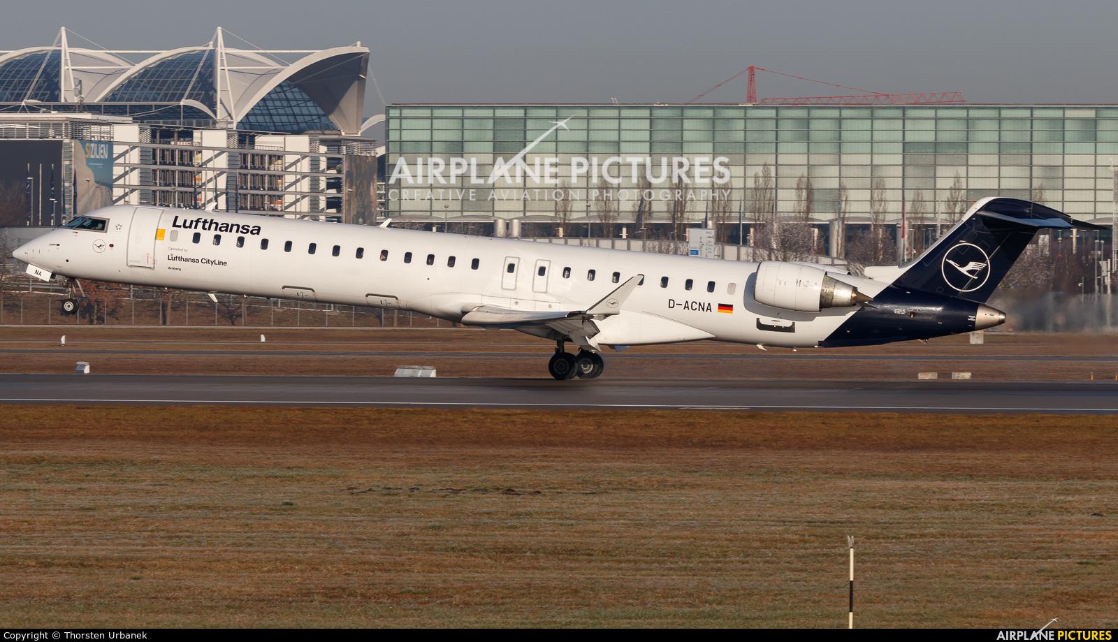 Lufthansa Regional - CityLine D-ACNA aircraft at Munich
