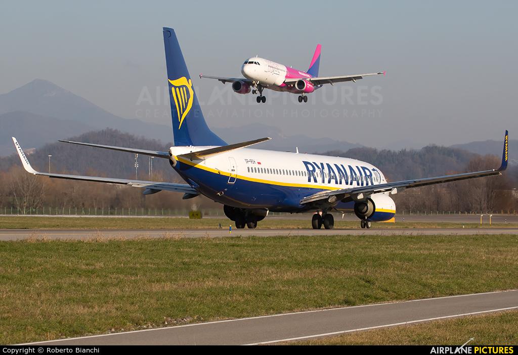 Ryanair Sun SP-RSH aircraft at Bergamo - Orio al Serio