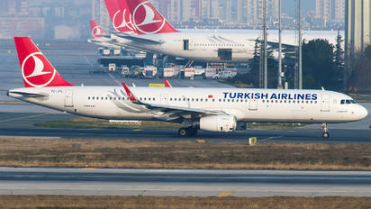 TC-JTL - Turkish Airlines Airbus A321