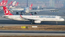 TC-JSN - Turkish Airlines Airbus A321 aircraft